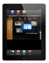 ipad screen small